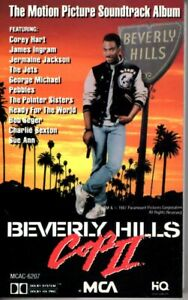 Beverly-Hills-Cop-II-2-Various-1984-Cassette-Tape-Official-Movie-Soundtrack-OST