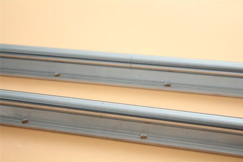 2 x SBR25 Fully Supported Linear Rail L300-1500mm Optional+4 x SBR25UU Block