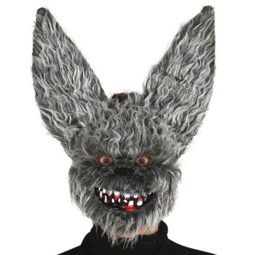 Evil Hairy Bat Mask Halloween Fancy Dress Party Costume