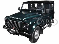 1984 LAND ROVER DEFENDER 90 ANTREE GREEN 1/18 DIECAST CAR MODEL KYOSHO 08901