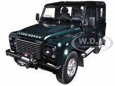 1984 LAND ROVER DEFENDER 90 ANTREE GREEN 1/18 DIECAST CAR MODEL KYOSHO 08901