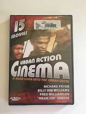NEW! Urban Action Cinema- A Bold Look Into The Urban Genre, 15 Movies 4 DVD's