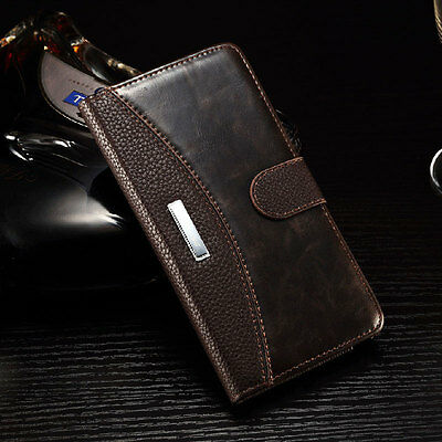 2016 Luxury Flip Wallet Phone Case Cover For Apple iPhone 5 5S 6 6S Plus