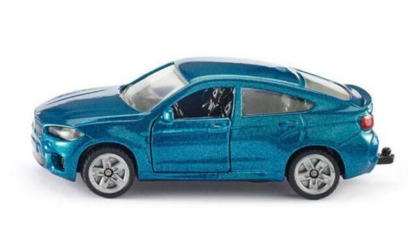 Blister NEU ° Siku 1409 BMW X6 M blau metallic Modellauto