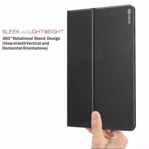2014 Poetic AppleiPad Air 2nd Gen DuraBook Stand Cover Case Folio Black