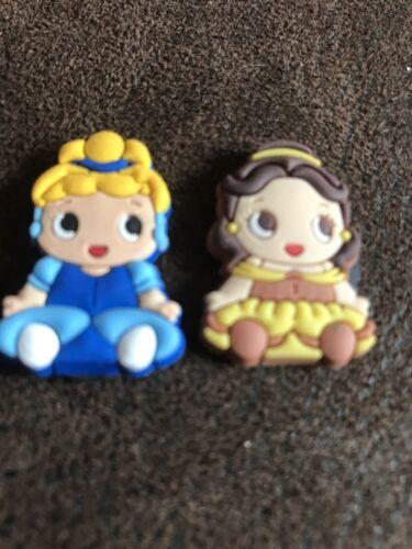 Novelty Set Of 6 Silicone Disney Baby Princesses Girls Decorative MINI Magnets