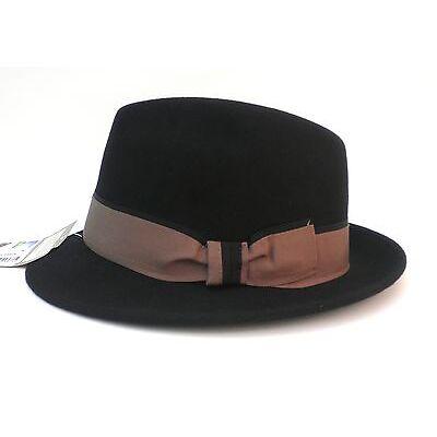 """Herrenhut """"SONOMA"""" klassisch eleganter Wollhut von Scippis Trilby Fedora Hüte"""