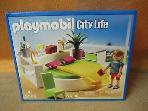 Details zu 5583 Schlafzimmer Schlafinsel zu 5574 Luxusvilla Villa NEU  Playmobil 5583