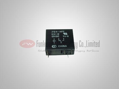 JQX-14FF-012-1Z HF14FF-012-1ZS General Purpose relais 10 A 12VDC x 10pcs
