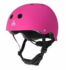 Triple Eight - Lil 8 Dual Certified Helmet with EPS Liner - Pink - kids helmets