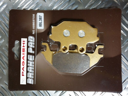 SEMI METAL REAR BRAKE PADS FOR YAMAHA YZF-R YZF 125 YZF125R 2008 - 2012