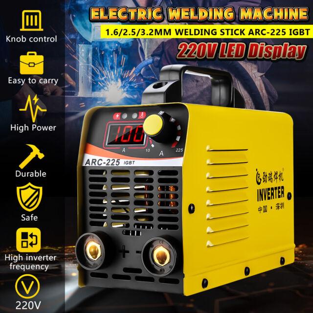 220V 225A TIG/MMA Electric Welding Machine ARC-225 IGBT Inverter Stick  Welder