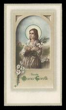 """santino-holy card""""""""ediz. NB*****  n.7198 S.MARIA GORETTI"""