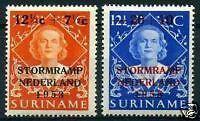 Suriname-nr-295-6-postfris-MNH-luxe