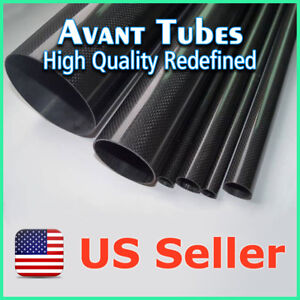 Glossy-8mm-OD-x-6mm-ID-x-500mm-3K-Roll-Carbon-Fiber-Tube-Rod-Quadcopter-Drone
