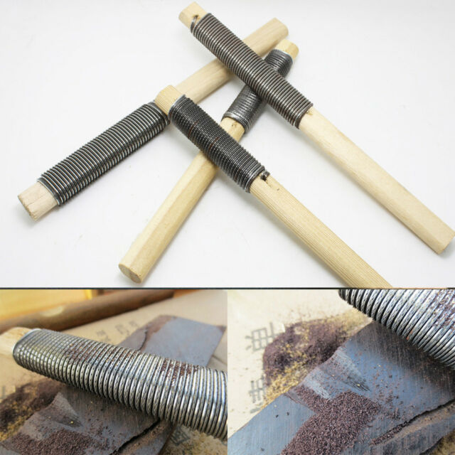 22CM Woodworking Carving Rasp File Carpenter Coarse Teeth For Soft Hard yyw  @w