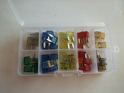 Car Electical Spare Emergency Travel Fuse Box Fuses Blade//Spade For Landrover