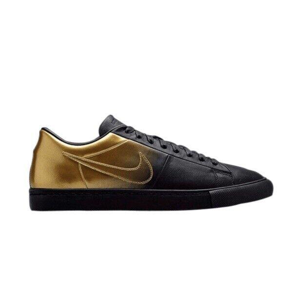 """Nike Blazer Low SP  Pedro Turnschuhe Schwarz Gold NEU Gr.42 """"718798-008"""""""
