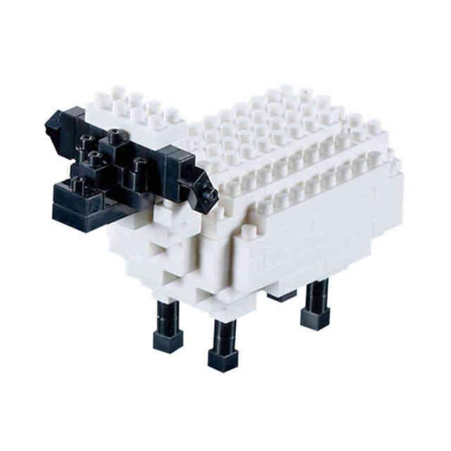 *NEW* BRIXIES SHEEP - 85 Pieces Nano / Micro-Sized Building Blocks #200.097