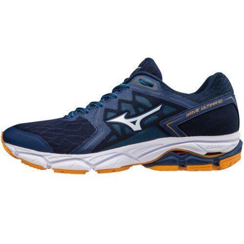 Mizuno Wave Ultima 10 Orange White Blue scarpe Corsa Running Sport Uomo Sneakers