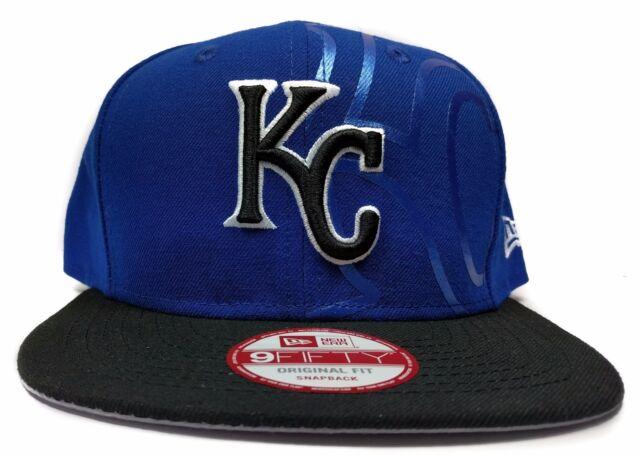 5a79df09576 Kansas City Royals New Era 9Fifty 2 Tone Treasure Blue Snapback Hat Cap MLB