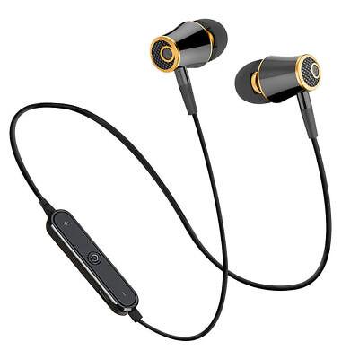 HiFi Super Bass Headset Wireless Bluetooth Earphone Sport Running Headphone High