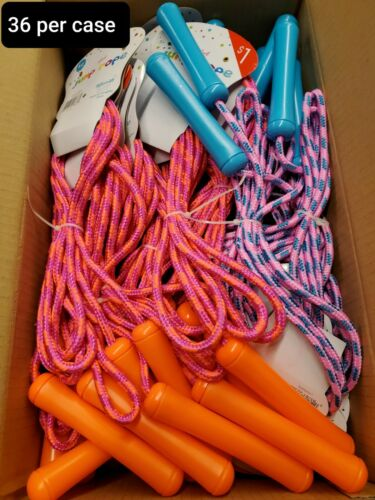 gym cardio WholeSale carnival prizes Lot of 36 Kids Jump Rope class rewards