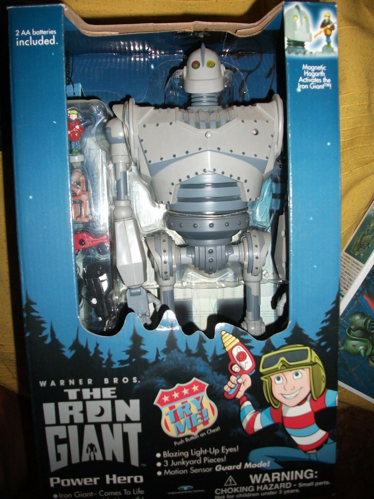 The IRON GIANT Power Hero  WARNER BROS TRENDMASTERS 22 NEW