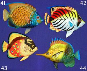 "Selections! 54 Tropical Fish Wall Plaque 6/""X4/""~ Nautical Beach Sealife Decor~"