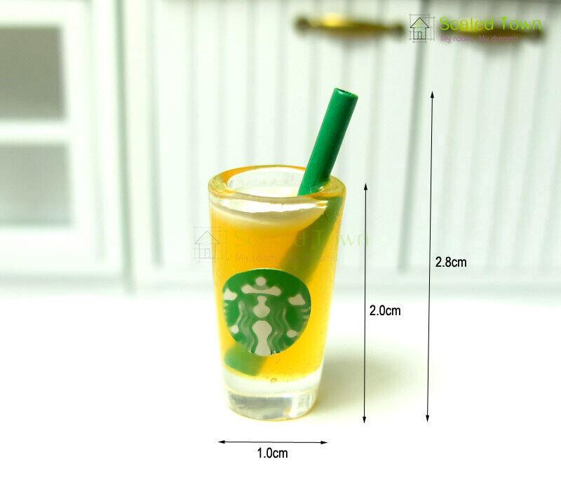 1pcs orange juice cup 2.8cm H