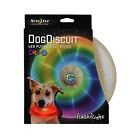 Nite Ize Flashflight Dog Discuit LED Light-Up Flying Disc Disco Fetch Frisbee