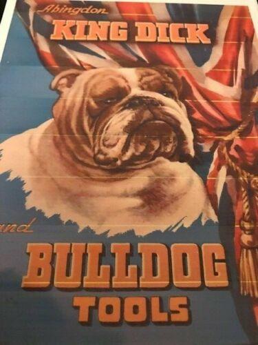 VINTAGE King Dick Bulldog strumenti catalogo 1947