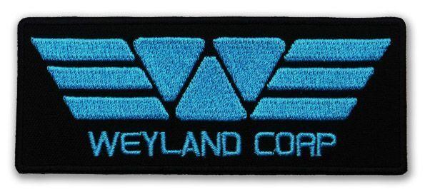 "PROMETHEUS ""Weyland Corp"" Blue Uniform Crew Patch - ALIEN / ALIENS"