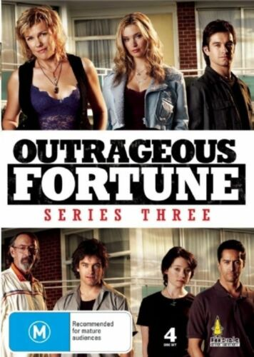 1 of 1 - Outrageous Fortune - Season 3 (DVD, 4 Disc Set) R4 Series