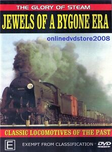 JEWELS-of-a-BYGONE-ERA-Classic-LOCOMOTIVES-Steam-TRAINS-Story-DVD-NEW-SEALED