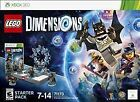 LEGO Dimensions: Starter Pack (Microsoft Xbox 360, 2015)