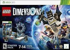 LEGO DIMENSIONS STARTER PACK FOR XBOX 360 - Used Once BATMAN WYLDSTYLE