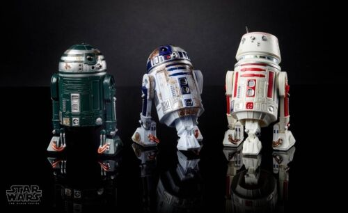 "Star Wars Hasbro Black Series 6/"" Red Squadron R2-D2 Astromech 3 Pack"