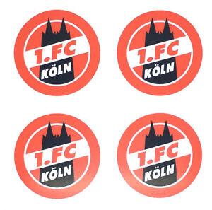 Details Zu 1 Fc Köln Aufkleber 4er Set Sticker Logo Fussball 574