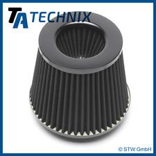 TA Technix Sport-Luftfilter Universalfilter schwarz rund-konisch Ø90mm