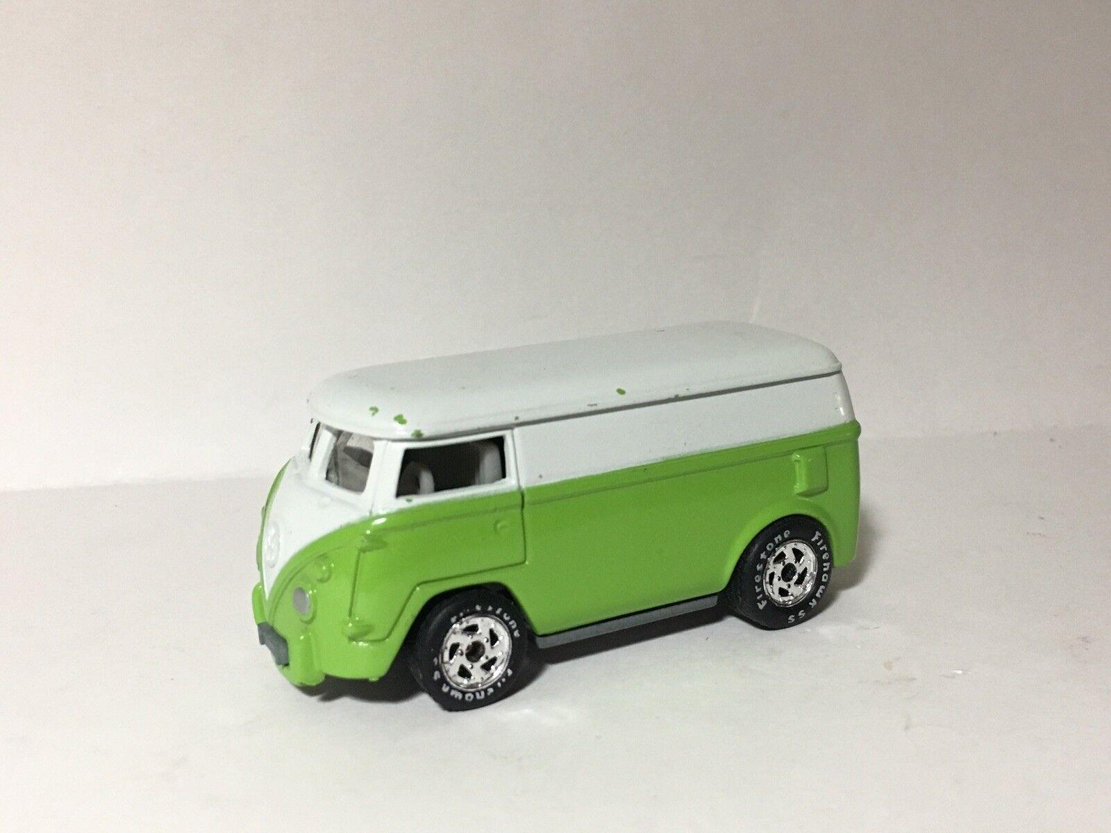 Johnny Lightning VOLKSWAGEN BUS ProugeOTYPE avec Blank base JL VW