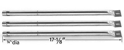 Stainless Steel Burner for Surefire SF34LP,Tuscany CS784LP Gas Grill Models-3PK
