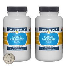 Sodium Carbonate 1 Pound 2 Bottles 99 Pure Reagent Grade Fine Powder