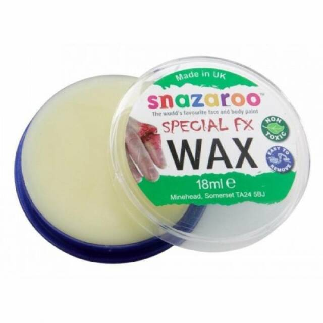 Snazaroo Cire Spécial Effets Fx 18 ML Moulage Cicatrice Blessures Halloween Robe