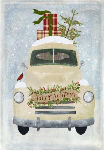 Decoupage-Serviettentechnik-Softpapier-Vintage-Weihnachten-Winter-12213