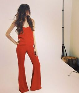 e9916f393b6 Image is loading Stone-Cold-Fox-Jerry-Jumpsuit-Red-SOLD-OUT
