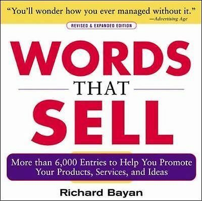 Bayan, Richard-Words That Sell BOOK NEW