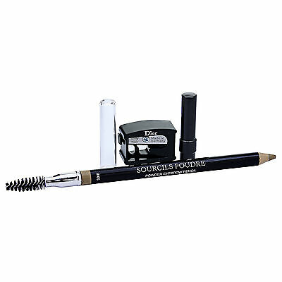 CD Dior Sourcils Poudre Powder Eyebrow Pencil W/ Brush Sharpener Color 653#17886