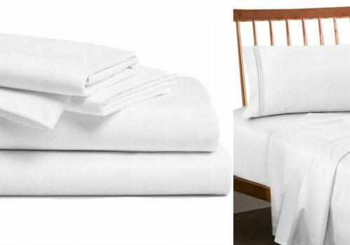 Hotel Bettlaken weiss Betttuch Laken ohne Gummizug viele Größen