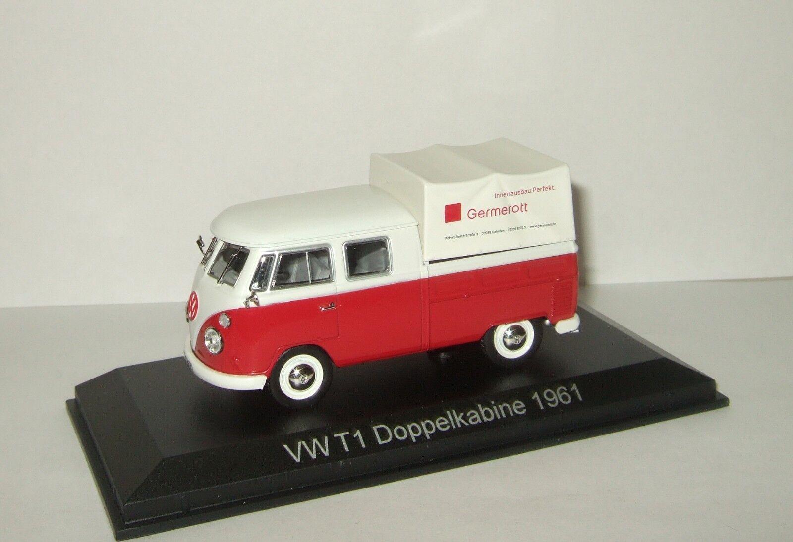 1 43 Norev VW Volkswagen T1c  Transporter Doka Germerouget 1 1964  derniers styles